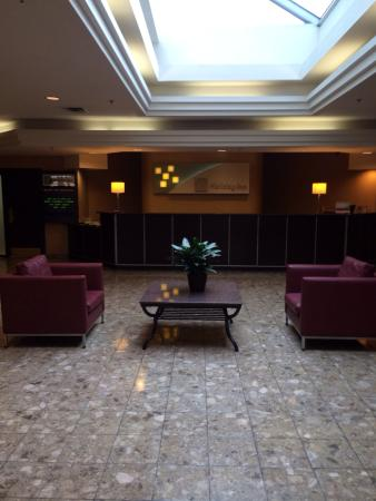 Doubletree by Hilton Halifax Dartmouth: Hotel lobby straight from doors.