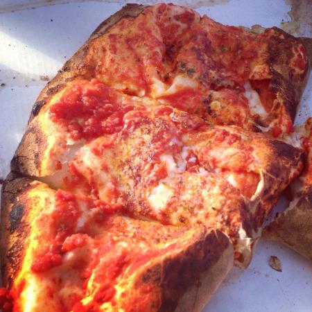 Pizza E Sfizi : Calzone with Salame Picante... DELICIOUSNESS!