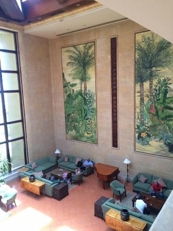 Second Floor Lobby View