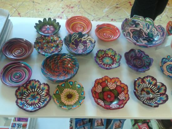 Gananoque, كندا: Beautiful bowls.