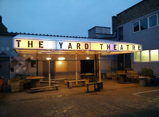 Image result for the yard theatre hackney logo