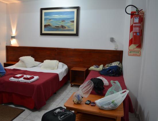Iguassu Flower Garden: Habitacion cama