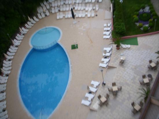 Park Hotel Odessos: Вид  из номера...