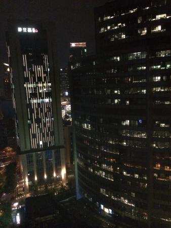 World Union Service Apartment Mosike: Super Aussicht aus dem 20. Stock.