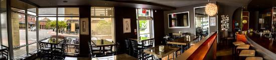 Ronovated lounge/bar area