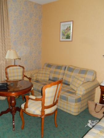 Semblancay, Francia: Sitting area of Room 1 in the Annexe.