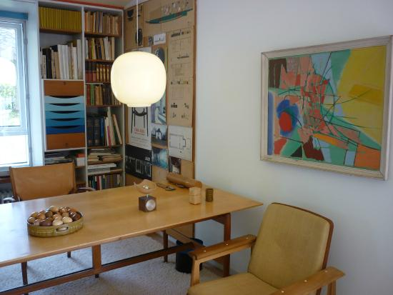 Charlottenlund, Danmark: Finn Juhl's study