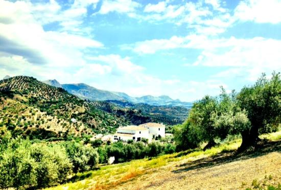 Cortijo Piltraque: The house in the middle of the mountains
