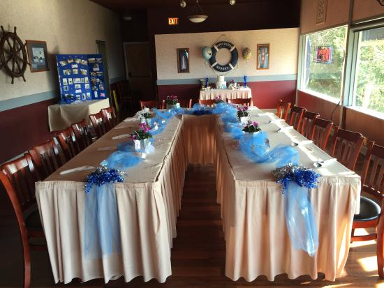 Depoe Bay, Oregón: Birthday Party in Banquet room