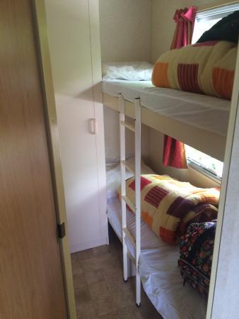 Camping L'Estival: Chambre enfant du 15m2