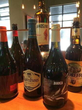 Lulu bistro : Choix de bières importées
