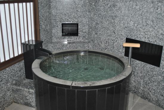 Taketoritei Maruyama: Indoor hot spring - as seen on their website as well.