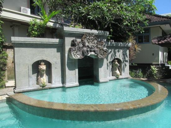 Karma Royal Sanur Pool Fountain