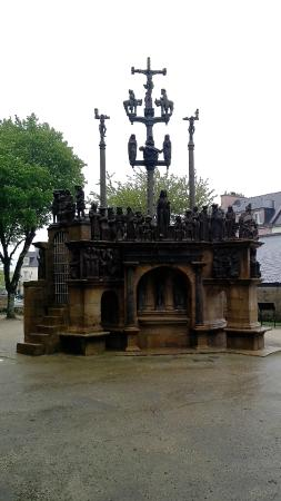 Les 7 calvaires monumentaux de Bretagne : calvaire de plougastel