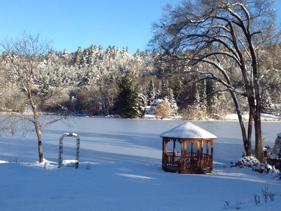 Sundari Day Spa: winter view