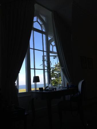 Penally Abbey Hotel Ltd: View from room 5
