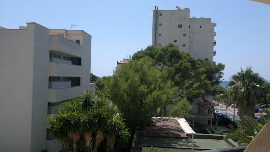 Principe Hotel: Вид из номера