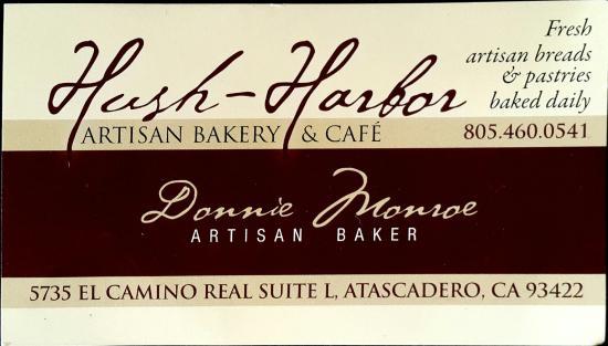 Hush-Harbor Artisan Bakery: Contact Information
