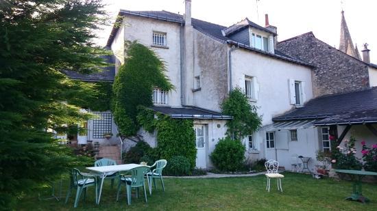 Indre-et-Loire – Touraine, France : vue du jardin