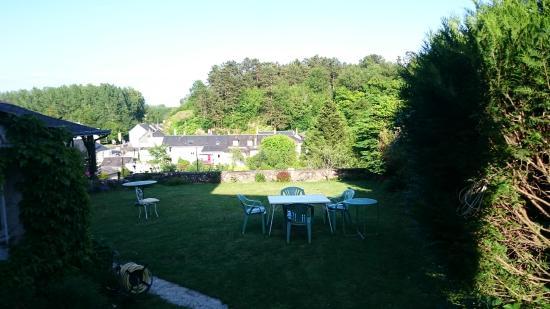 Indre-et-Loire – Touraine, France : vue sur le jardin