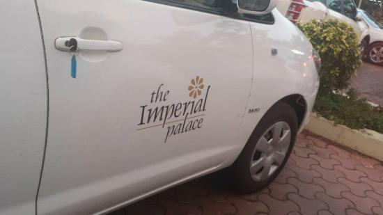The Imperial Palace: comfortable hotel car
