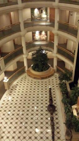 The Imperial Palace: large atrium