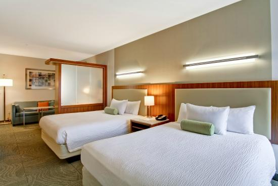 SpringHill Suites Tallahassee Central: Sleeping Area