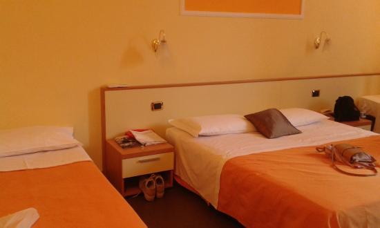 Hotel Angelica: camera letti