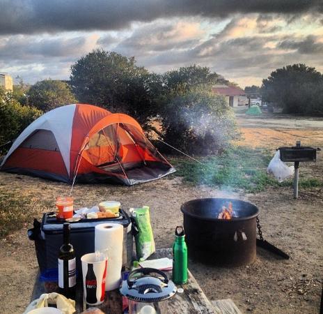 San Clemente State Beach Camp 129