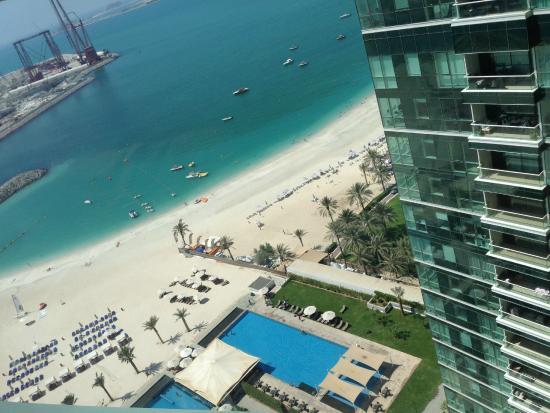 Doubletree By Hilton Hotel Dubai Jumeirah Beach View From The Th Floor