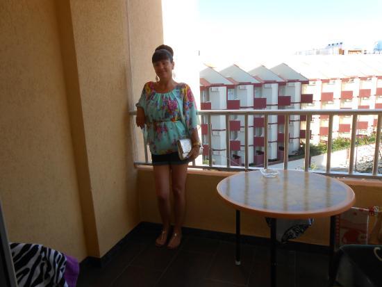Apartamentos Palm Beach: balcony