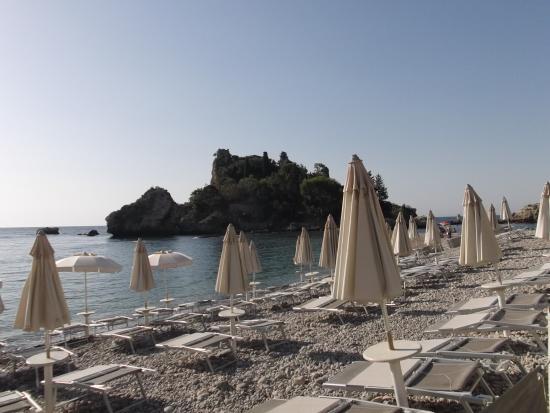 Villa Bianca Resort: галечный пляж