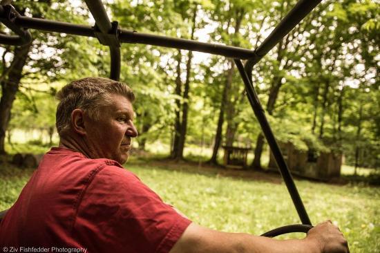 Williamstown, ماساتشوستس: Pete in the woods