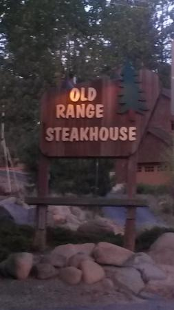 Old Range Steakhouse : Outside view