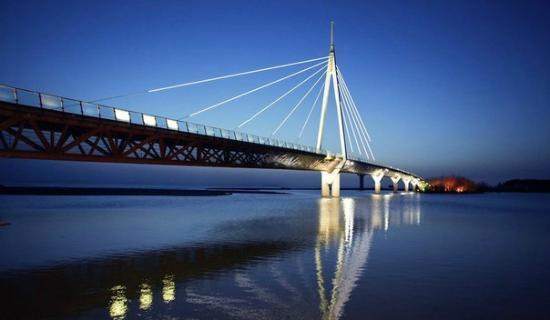Anaklia, Gruzja: Пешеходный мост