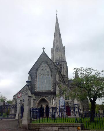 St. Aidan's Cathedral: The west end