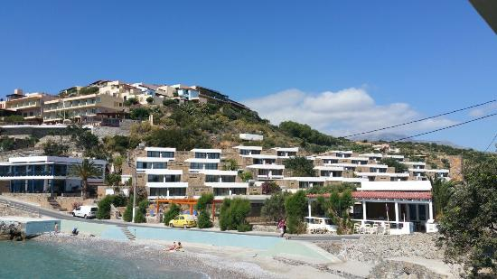 Piscine Vue Mer Hotel Picture Of Ariadne Beach Agios