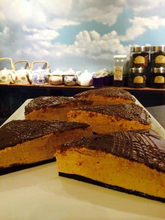 Kuchen De Arandanos Con Stevia Picture Of Cafe Blanco Castro