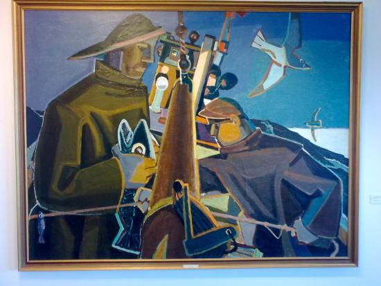 Duushus Museum: Fiskibatur (Gunnlauger Schevig, 1958)