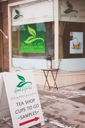 Good Life Tea: Front of Store