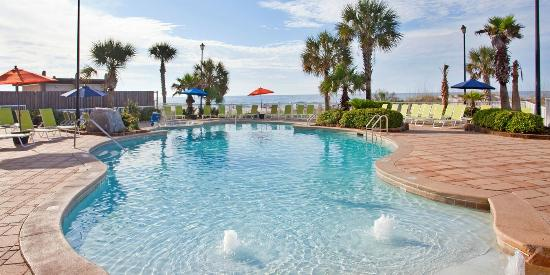 Holiday Inn Express Orange Beach Zero Entry Pool