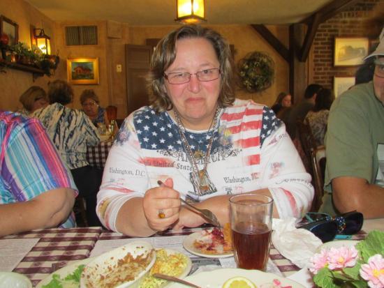 The Ronneburg Restaurant: Free pie for the birthday girl