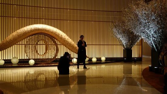 The Lobby at the Peninsula Tokyo: Underholdning