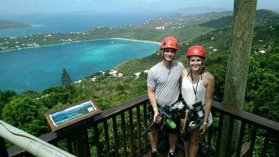 Zipline St Thomas Virgin Islands
