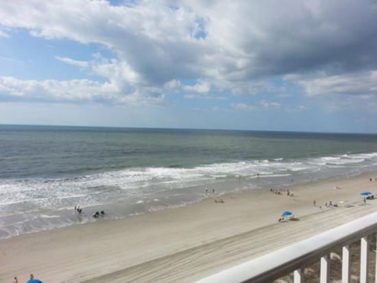 Condotels at One Ocean Place : View from the balcony in unit 608