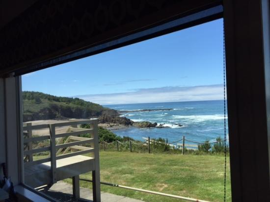 Depoe Bay, OR: office view
