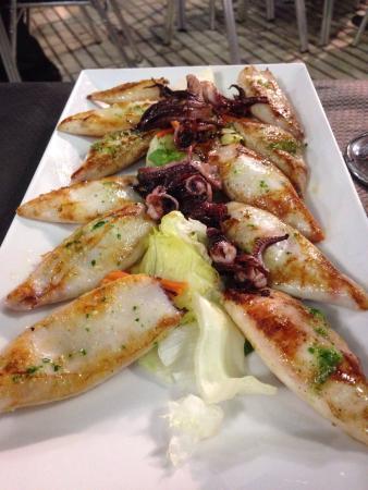 Chipirones a la plancha picture of restaurante la vinoteca boadilla del monte tripadvisor - Chipiron a la plancha ...