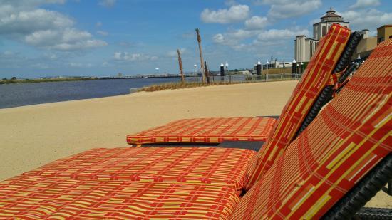 Golden Nugget Hotel Man Made Beach