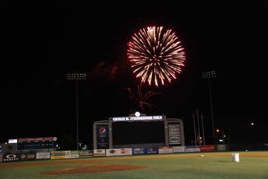 George M. Steinbrenner Field: Fireworks Night