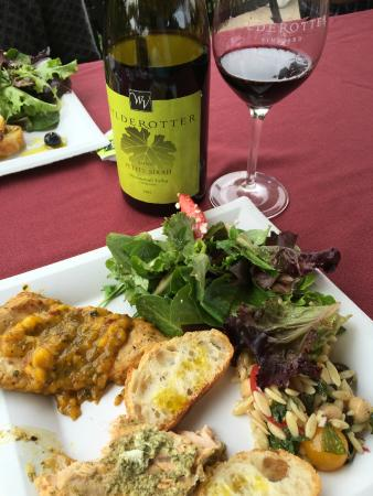 Wilderotter Winery: Members' Appreciation Luncheon (we felt appreciated!)
